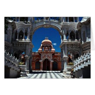 Templo de Krishna Balaram, Uttar Pradesh septentri Tarjeta De Felicitación