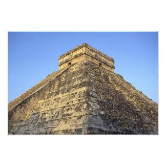Templo de Kukulcan o castillo de Castillo) adentro Fotografia