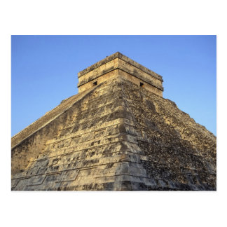 Templo de Kukulcan o castillo de Castillo) adentro Tarjetas Postales
