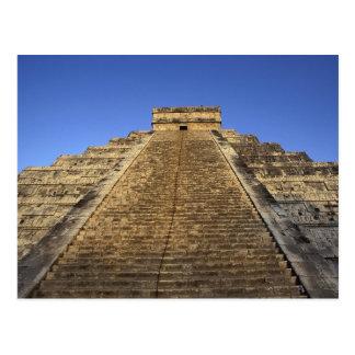 Templo de Kukulcan o castillo de Castillo) en 2 Tarjetas Postales