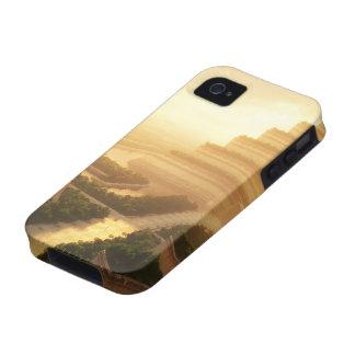 Templo de la caja dura de la hoja (iPhone 4) iPhone 4 Carcasa
