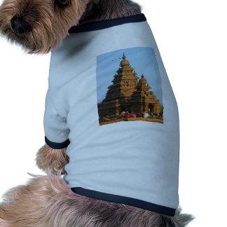 Templo de la India Camiseta Con Mangas Para Perro