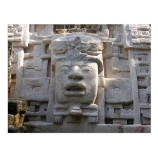 Templo de la máscara postales