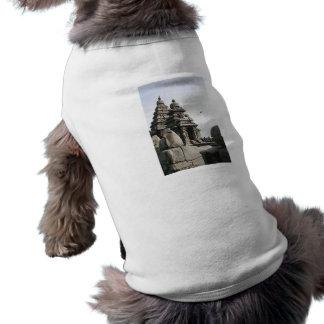 Templo de la orilla camisa de perro