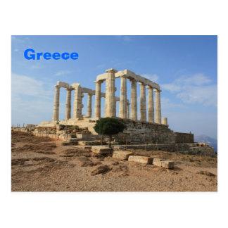 Templo de la postal de Poseidon