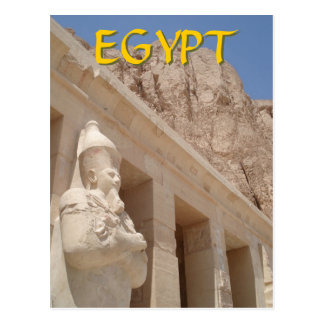 Templo de la reina Hatshepsut Postal