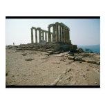 Templo de las ruinas de Poseidon Postal