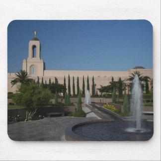 Templo de LDS - playa de Newport, CA Tapete De Ratón