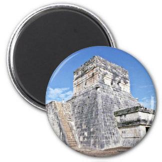 Templo de los jaguares, Chichen Itza Imanes De Nevera