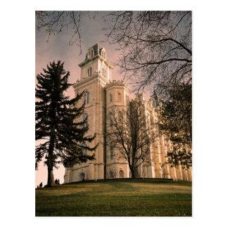 Templo de Manti Utah LDS Postal