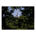 Templo de Moroni Nauvoo del ángel Felicitación