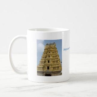 Templo de Mysoram en la India Tazas