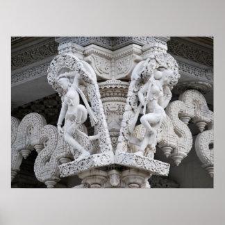 Templo de Neasden - Baps Shri Swaminarayan Mandir Póster