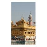 Templo de oro Harmandir Sahib Amritsar la India Tarjetas De Visita