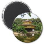 Templo de oro, Kyoto Imán Para Frigorifico