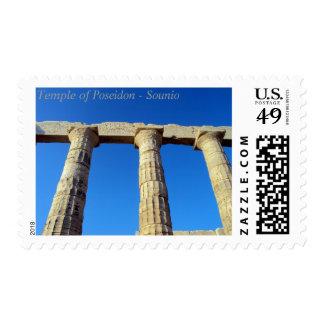 Templo de Poseidon - Sounio Sellos