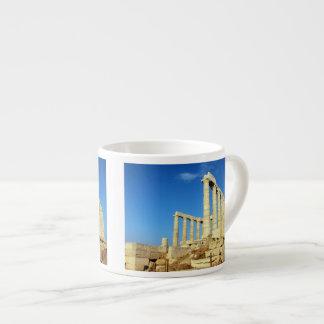 Templo de Poseidon - Sounio Taza Espresso