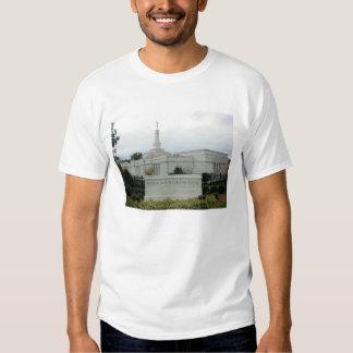 Templo de Raleigh NC LDS Camisas