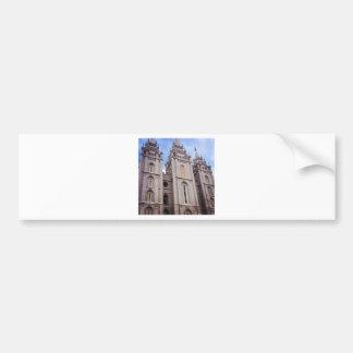 Templo de Salt Lake City Pegatina De Parachoque