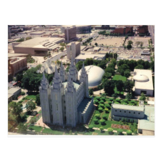 Templo de Salt Lake LDS Postal