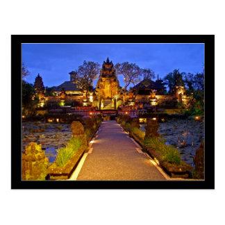 Templo de Saraswati, Ubud Bali Indonesia Postales