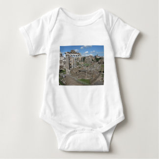 Templo de Saturn, foro Romanum Body Para Bebé