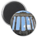 Templo de Saturn - siglo IV temprano A.C. Imán Para Frigorífico