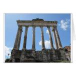 Templo de Saturn - siglo IV temprano A.C. Felicitaciones