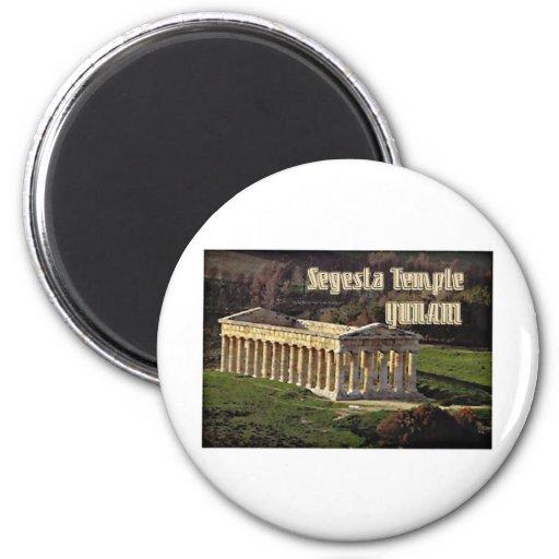 Templo de Segesta Imán De Frigorifico