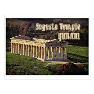 Templo de Segesta Postales