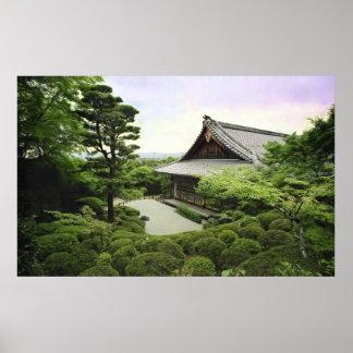 Templo de Shisendo - Kyoto Japón Posters