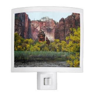 Templo de Sinawava, Zion, Utah Lámparas De Noche