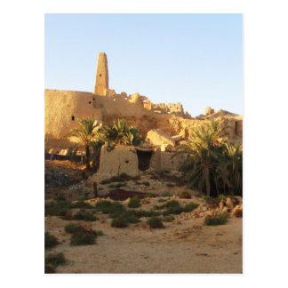 Templo de Siwa de Amun - Oracle de Siwa Tarjeta Postal