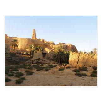 Templo de Siwa de Amun - Oracle de Siwa Tarjetas Postales