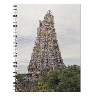 Templo de Sri Meenakshi Amman, Madurai, Tamil Nadu Libreta Espiral
