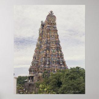 Templo de Sri Meenakshi Amman, Madurai, Tamil Nadu Póster