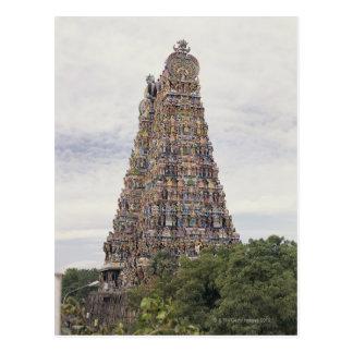 Templo de Sri Meenakshi Amman, Madurai, Tamil Tarjeta Postal