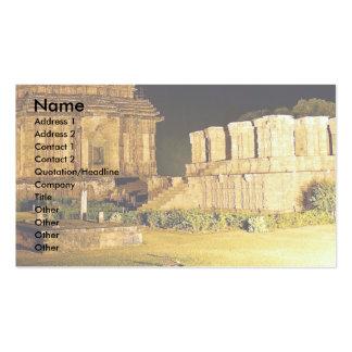 Templo de Sun, Konark, la India Tarjeta De Visita