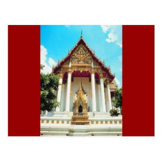 Templo de Tailandia Postal