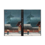 Templo de Tennô-ji en hanga de la espinilla del ka iPad Mini Cárcasa