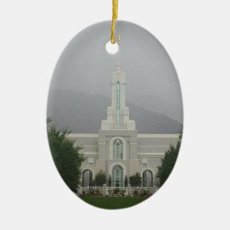Templo de Timpanogos LDS del soporte, bifurcación Ornamentos De Reyes Magos