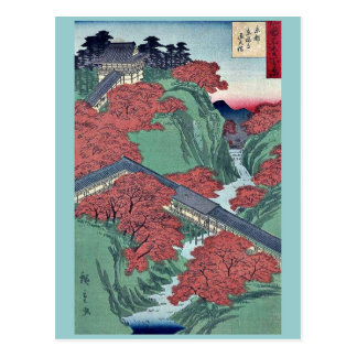 Templo de Tofukuji en Kyoto por Utagawa, Hiroshige Tarjeta Postal