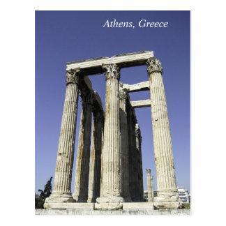 Templo de Zeus - la postal de Atenas, Grecia