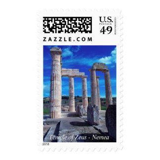 Templo de Zeus - Nemea Sellos