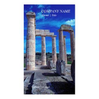 Templo de Zeus - Nemea Tarjeta Personal