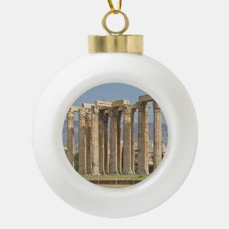 Templo de Zeus olímpico, Atenas, Grecia Adorno De Cerámica En Forma De Bola