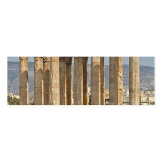 Templo de Zeus olímpico, Atenas, Grecia Tarjeta Personal