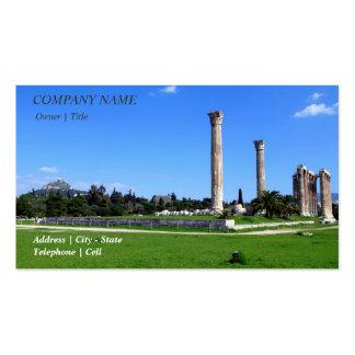 Templo de Zeus olímpico - Atenas Tarjeta De Visita