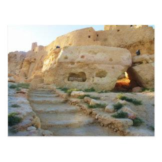 Templo del Amon en el oráculo de Siwa - de Siwa Tarjeta Postal