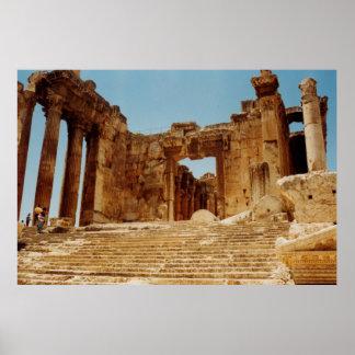 Templo del Bacchus Impresiones